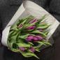 11 фиолетовых тюльпанов фото
