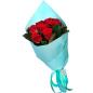 11 красных роз 50 см фото