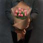11 пионовидных тюльпанов в ассортименте фото