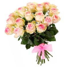15 эквадорских роз 60 см в ассортименте  фото