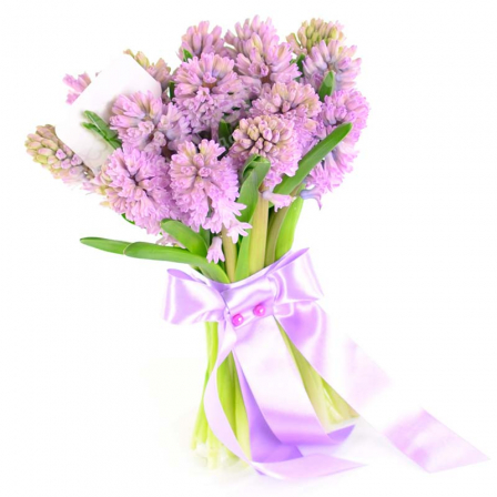 15 hyacinths in assortment photo