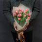 15 пионовидных тюльпанов в ассортименте фото