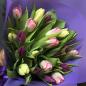 21 тюльпан микс (3 цвета) фото