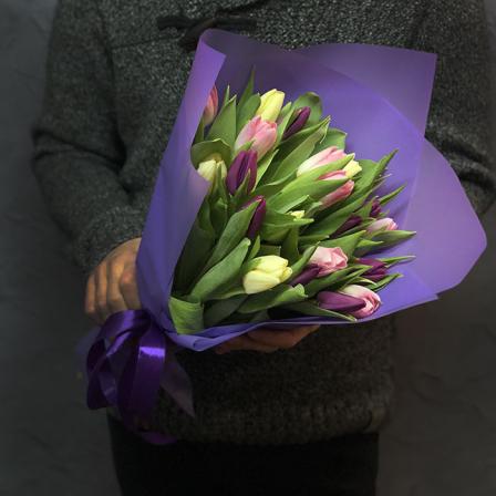 21 tulip mix (3 colors) photo