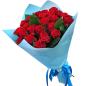 25 красных роз 50 см фото