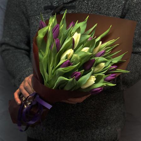 25 tulip mix (2 colors) photo