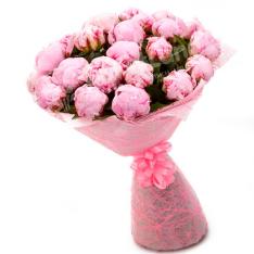 29 рожевих півоній фото