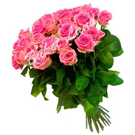 31 розовая роза Аква 60 см