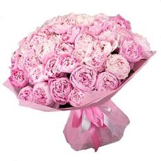 39 розовых пионов фото