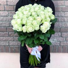 51 white rose 80 cm photo