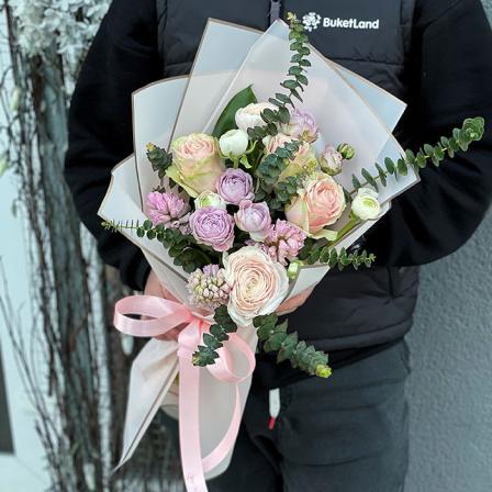 Букет цветов «Глорис» фото