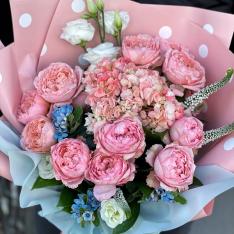 Букет цветов «Порыв чувств» фото