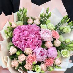 Букет цветов  «Фруктовый Лёд» фото