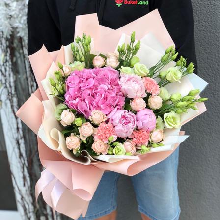 Букет квітів «Фруктовий Лід»