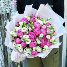 Букет цветов  «Счастливый День» фото