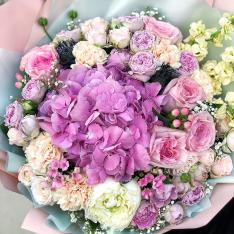 Букет квітів «Квіткова Коштовність» фото