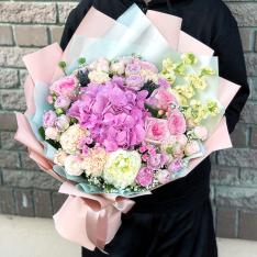 Букет цветов  «Цветочная Драгоценность» фото