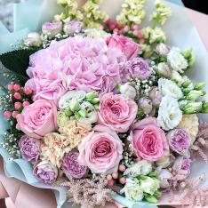 Букет квітів «Квітковий Джем» фото