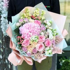 Букет цветов  «Цветочный Джем» фото