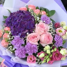 Букет квітів «Туманний Альбіон» фото