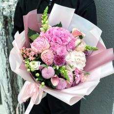 Букет цветов  «Жемчуг Росы» фото