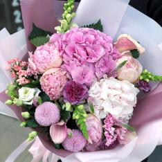 Букет квітів «Перли Роси» фото