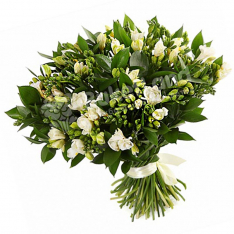 Bouquet of 101 freesias photo