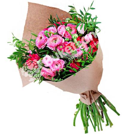 Bouquet of 19 Ranuncles photo