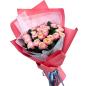 Букет з 37 піоноподібна троянда фото