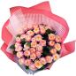 Букет из 37 пионовидных роз фото