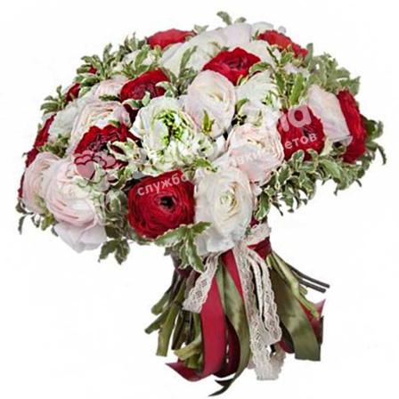 Bouquet of 49 ranuncles photo