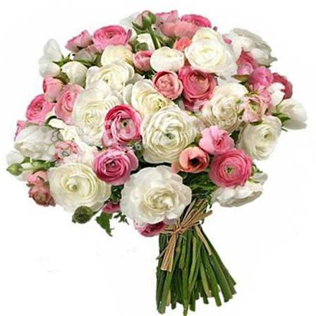 Bouquet of 99 ranuncles photo