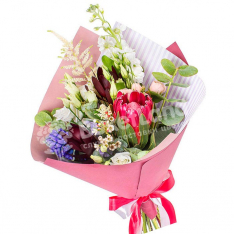 Bouquet of exotic mix | size S photo