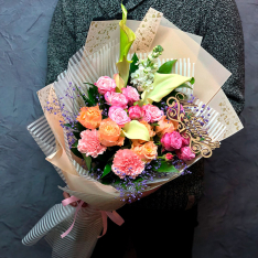 Букет от флориста «Любимой жене» фото