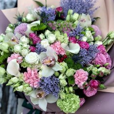 "Bouquet of flowers ""English manners"" photo"