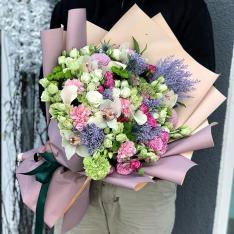 Букет цветов  «Английские манеры» фото