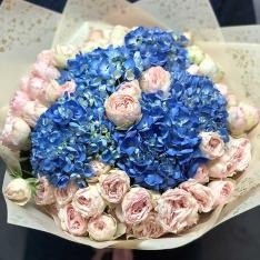 Букет квітів «Ароматне достаток» фото