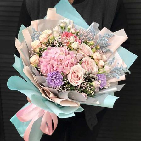 Букет цветов «Белиссимо» фото
