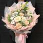 Букет цветов «Белоснежка» фото