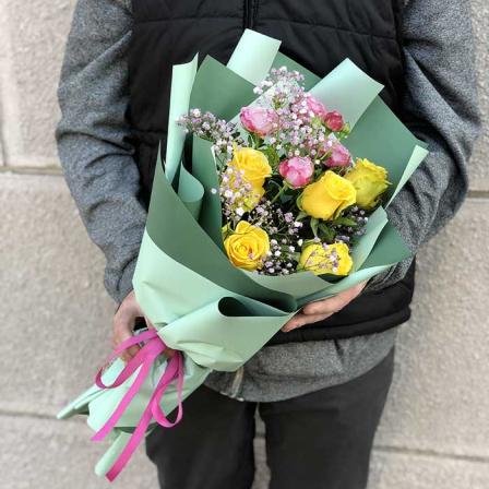 Букет квітів «Хвилини романтики»