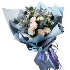 Букет цветов «Чувство стиля» фото