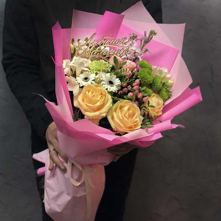 Букет цветов «Для мамы» фото