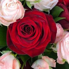 Букет цветов «Дуэт» фото