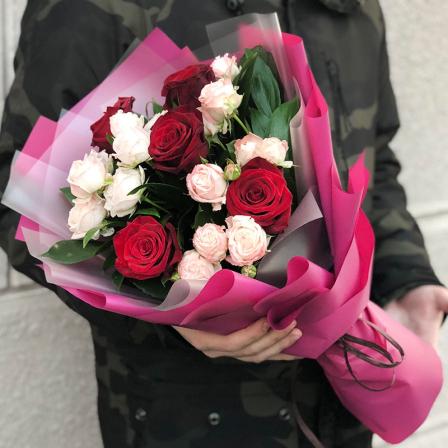 Букет квітів «Дует» фото