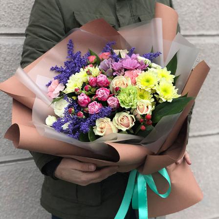 Букет квітів «Фактура» фото