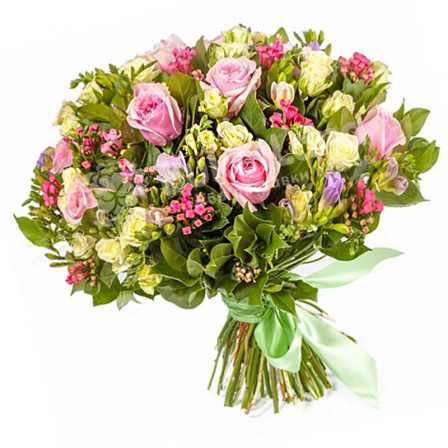"Bouquet of flowers ""Figaro"" photo"