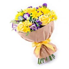 Букет цветов «Фиеста» фото