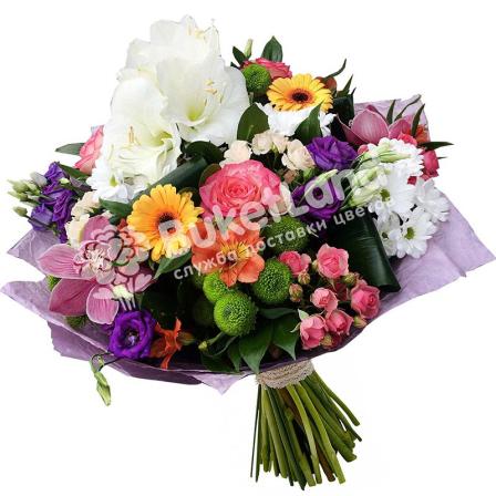 Букет цветов «Французский аромат» фото