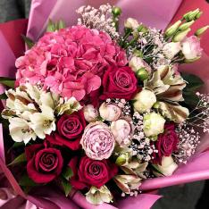 """Bouquet of flowers """"Galaxy of feelings"""" photo"""