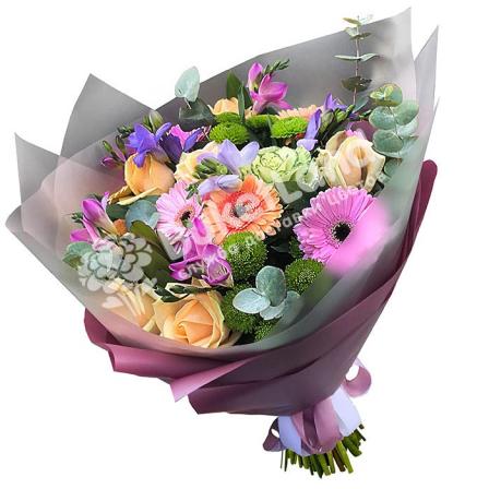 Букет цветов «Гармония» фото